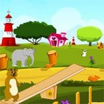 Animal Playground Escape