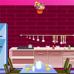 Pink Kitchen Escape
