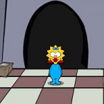 Maggie Simpson Saw Game
