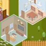 Isometric House Escape