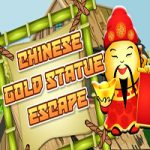 Chinese Gold Statue Escape