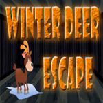 Winter Deer Escape
