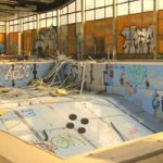Escape From Abandoned Swimming Pool