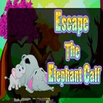 Escape The Elephant Calf