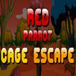 Red Parrot Cage Escape