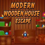 Modern Wooden House Escape
