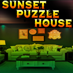Sunset Puzzle House Escape