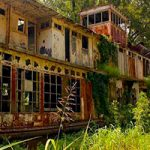 Abandoned Towboat Mamie S Barrett Escape
