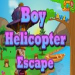 Boy Helicopter Escape