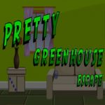 Pretty Green House Escape