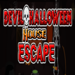 Devil Halloween House Escape