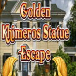Golden Khimeros Statue Escape
