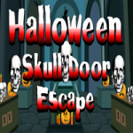 Halloween Skull Door Escape