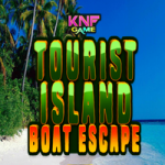 Tourist Island Boat Escape