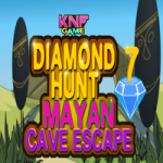 Diamond Hunt 7 Mayan Cave Escape