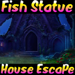 Fish Statue House Escape