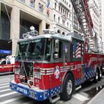 New York Firetruck Puzzle