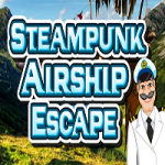 Steampunk Airship Escape