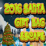 2016 Santa Gift Bag Escape