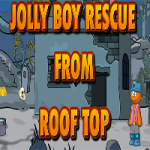 Jolly Boy Rescue From Roof Top
