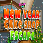 New Year Cake Shop Escape