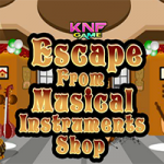 Escape From Musical Instruments Shop
