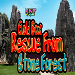 Gold Box Rescue From Stone Forest
