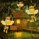 Honey Bees Forest Escape