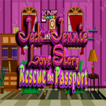 Jack And Jennie Love Story Rescue the Passport