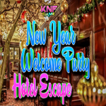 New Year Welcome Party Hotel Escape