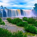 Vietnam Waterfall