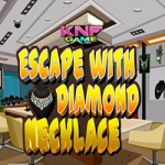 Escape With Diamond Necklace