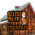 Rescue The Cat From Log House