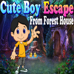 Cute Boy Escape From Forest House