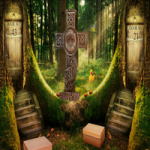 Forest House Escape 8BGames
