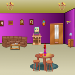 Modern Purple House Escape