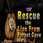 Rescue The Lion From Forest Cave