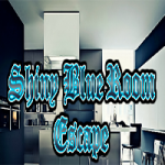 Shiny Blue Room Escape