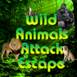 Wild Animals Attack Escape