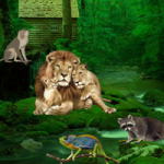 Wild Animals Forest Escape