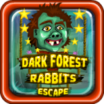 Dark Forest Rabbits Escape