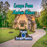 Escape From Modern House WorldEscapeGames