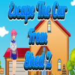 Escape The Car From Shed 2