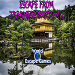 Escape From Japanese Garden 2 WorldEscapeGames