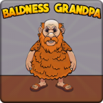 Baldness Grandpa Escape