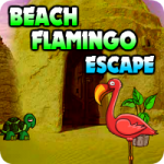 Beach Flamingo Escape
