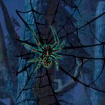 Black Widow Spider Forest Escape