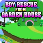 Boy Rescue From Garden House
