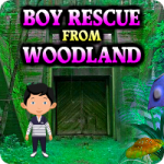 Boy Rescue From Woodland