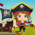 Caribbean Pirate Girl Rescue